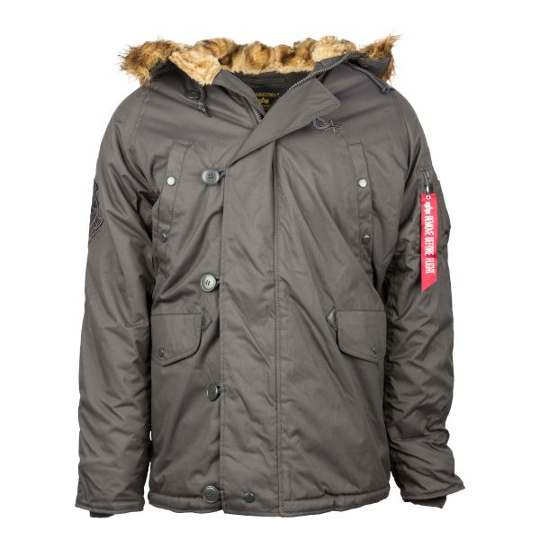 Alpha Industries Explorer Winterjacket repl. grey