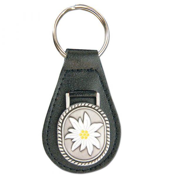 Schlüsselanhänger mit Barettabz. Gebirgsjäger