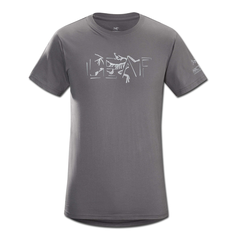 T-Shirt Arcteryx Fragmentum grau