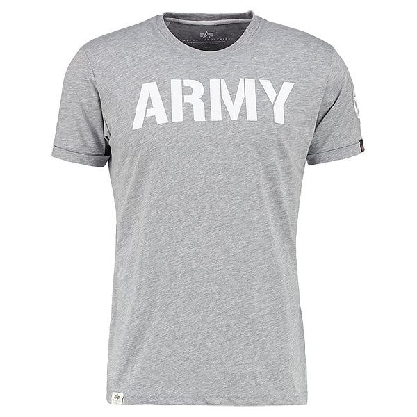 Alpha Industries T-Shirt Army grau