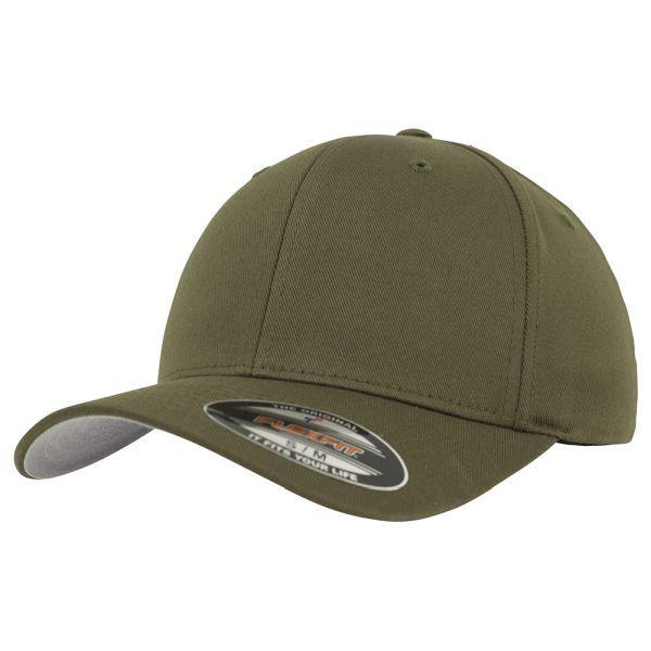 Flexfit Cap Wooly Combed oliv