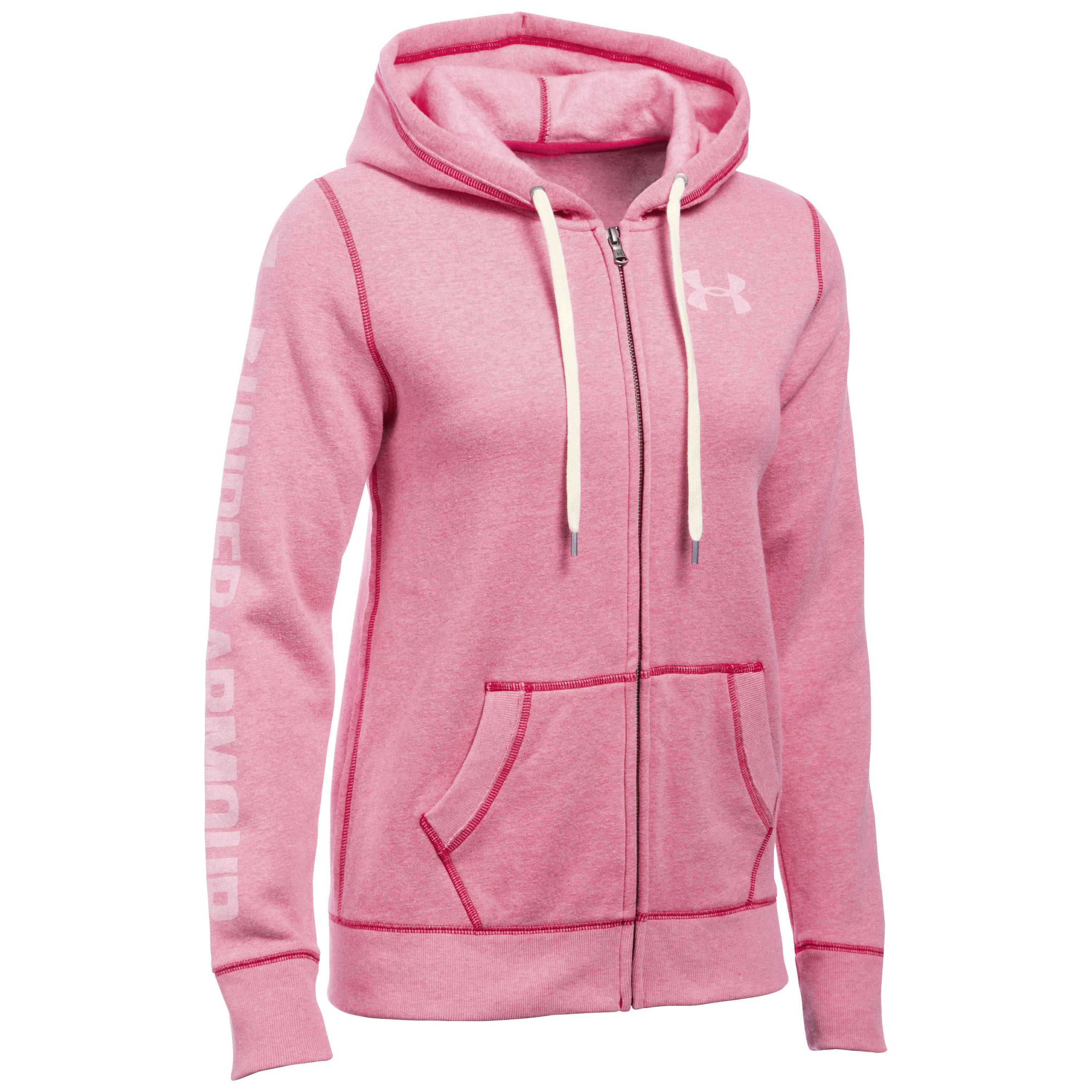 Under Armour Women Jacke Favorite Fleece pink