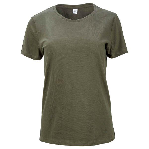 T-Shirt Damen urban khaki