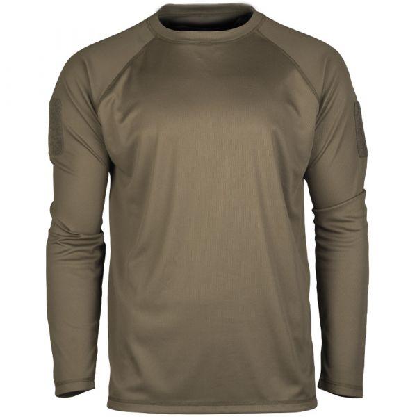 Mil-Tec Tactical Quickdry Langarmshirt oliv