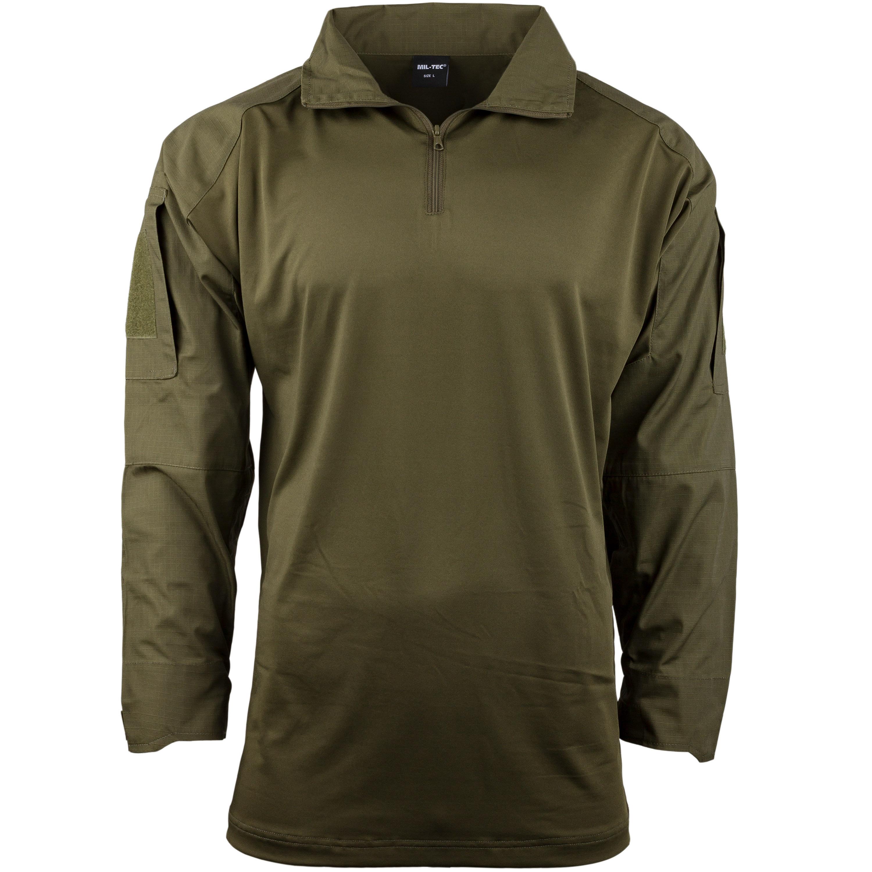 Combat Shirt Mil-Tec oliv