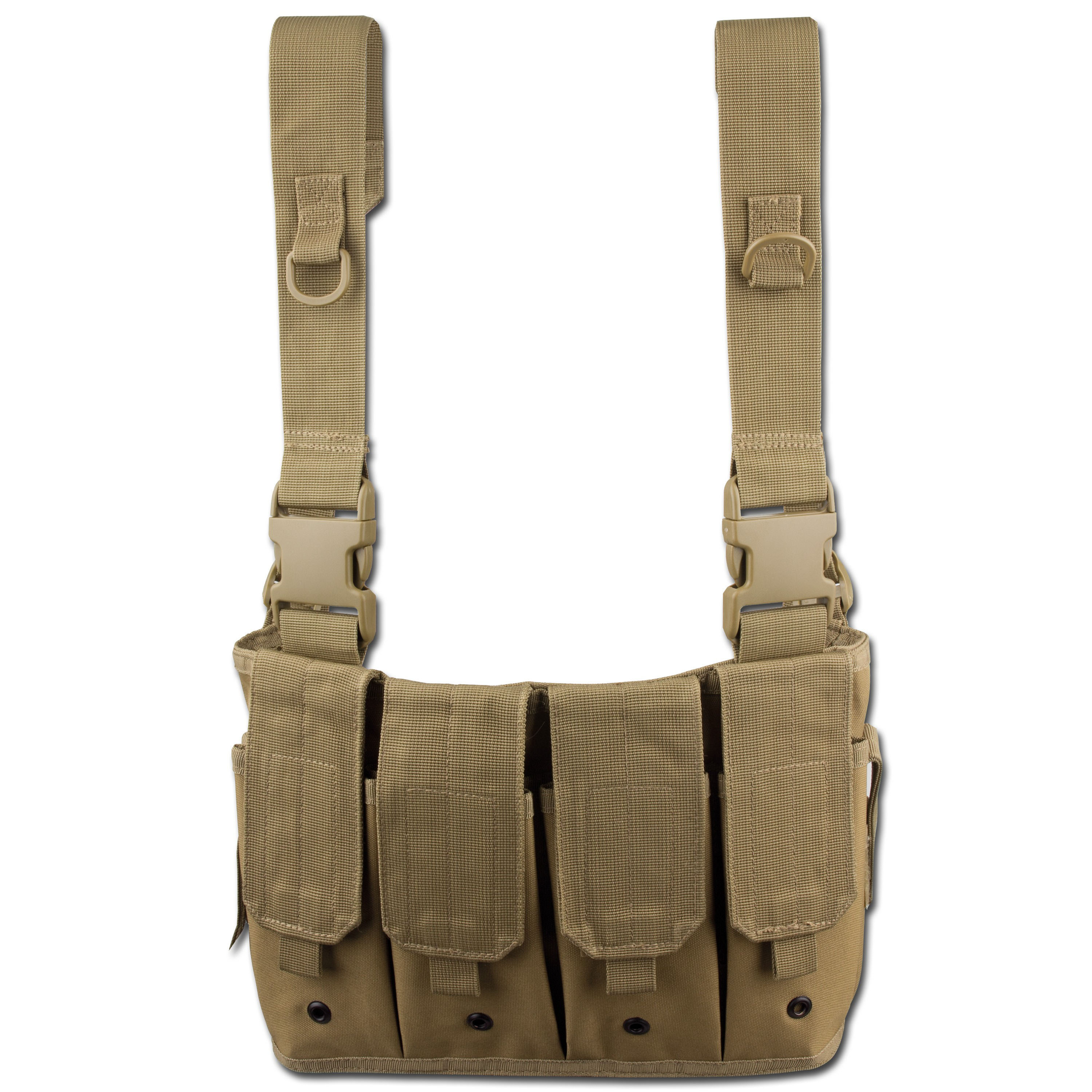 Mag Carrier Chest Rig coyote