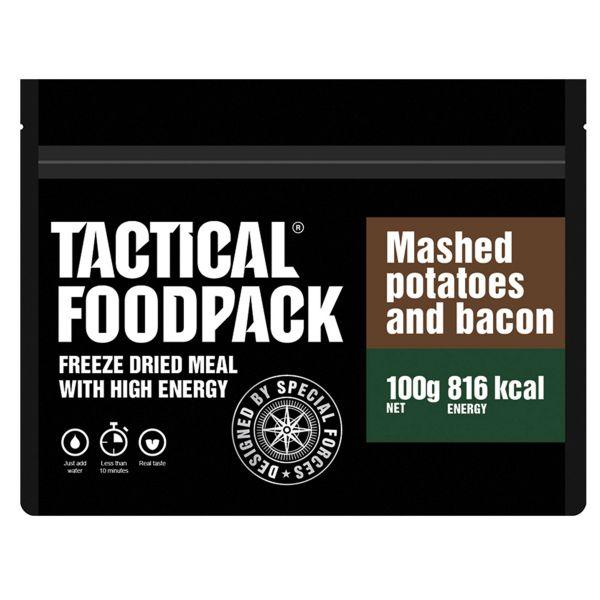 Tactical Foodpack Outdoor Nahrung Kartoffelbrei mit Schinken