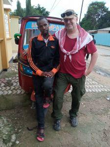 Mein Driver Cassy und ich !