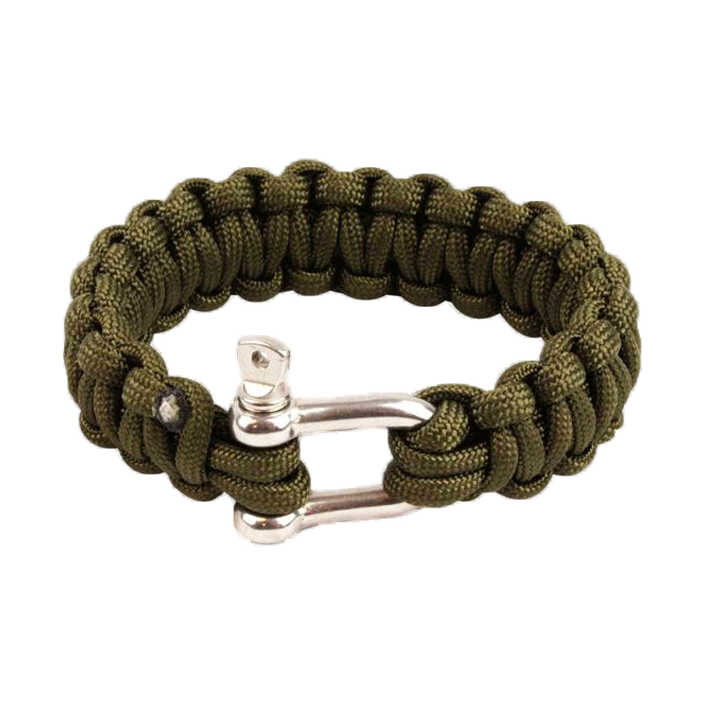 Gut gemocht Highlander Paracord Armband Metallverschluss oliv kaufen bei ASMC UH69