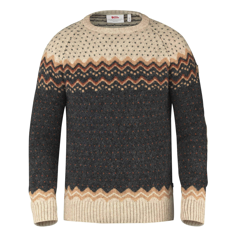 Fjällräven Övik Knit Sweater dunkelgrau