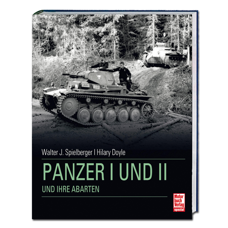 Buch Panzer I und II und ihre Abarten