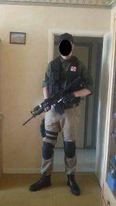 Umbrella Corporation Mercenary