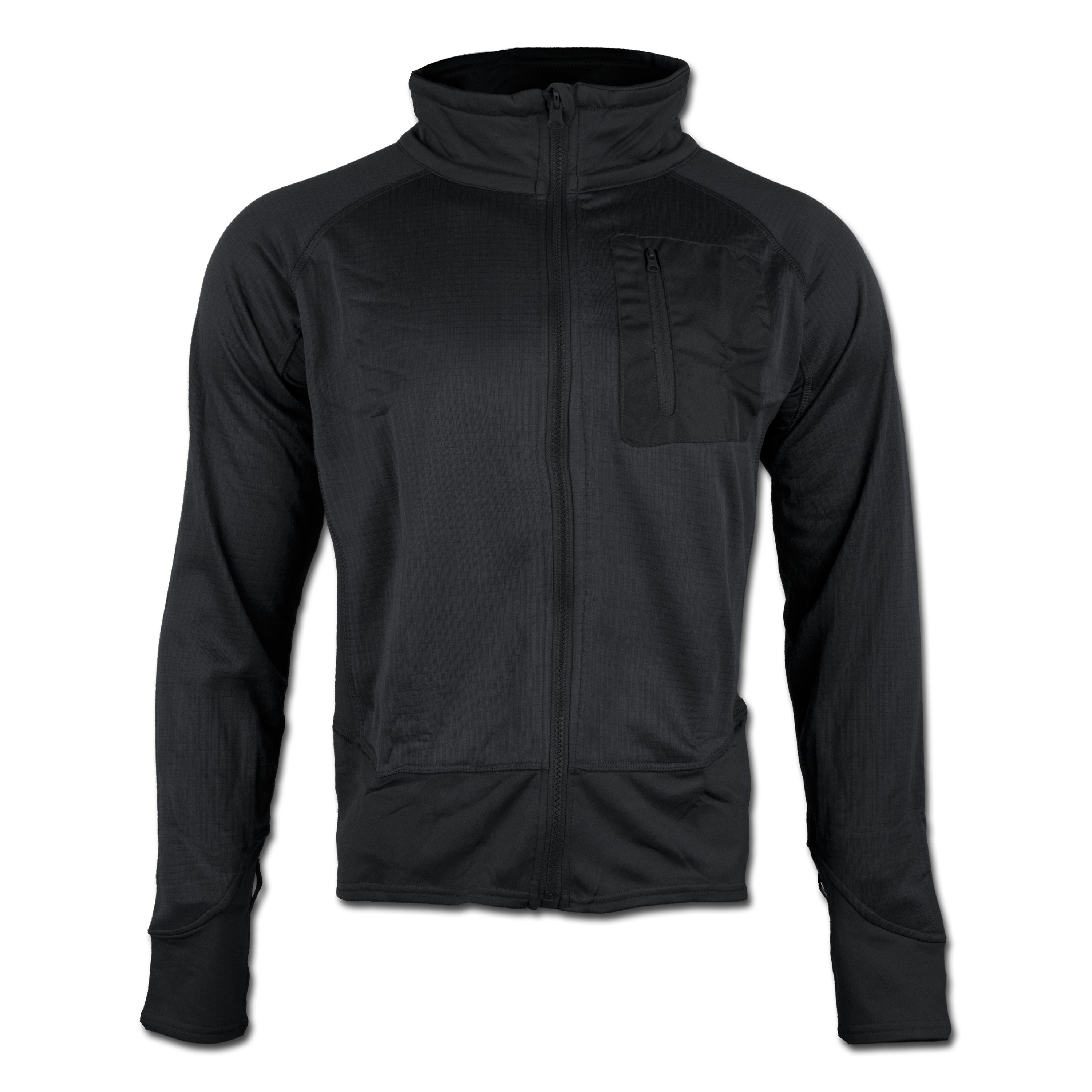 Tactical Shirt Mil-Tec Thermo schwarz