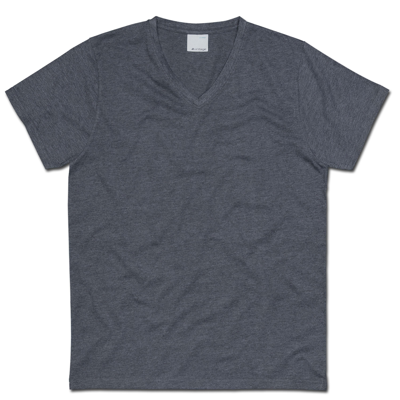 T-Shirt Vintage Industries Howdy dunkelgrau