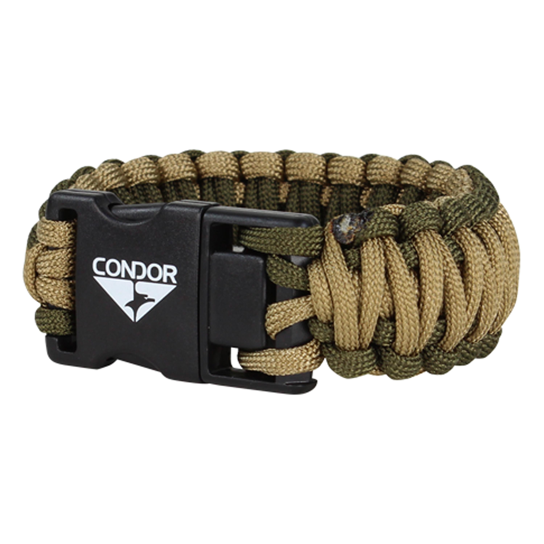 Condor USB Paracord Bracelet TAN