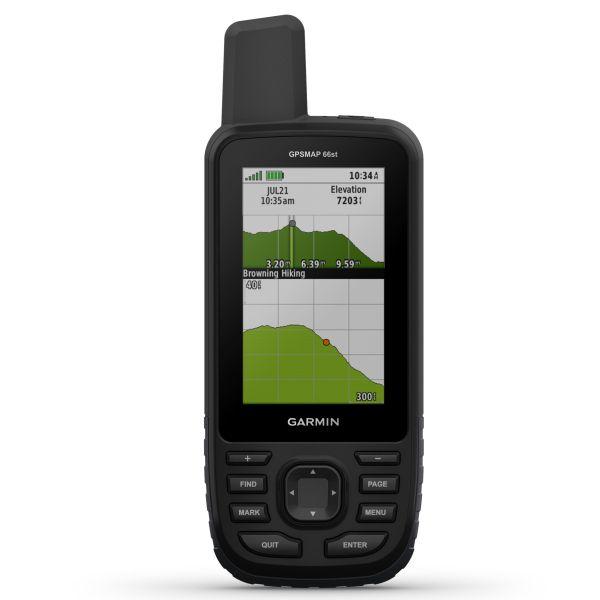 Garmin GPSMAP 66ST mit TOPO Active Europa Schwarz