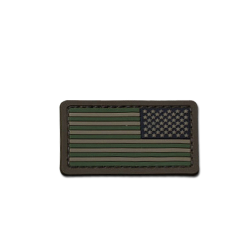 MilSpecMonkey Patch US Flag Mini REV PVC forest