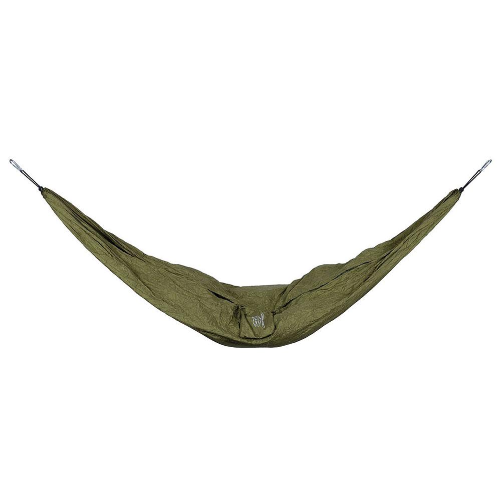 Hängematte mit Packsack Oliv Camping Outdoor sehr leicht