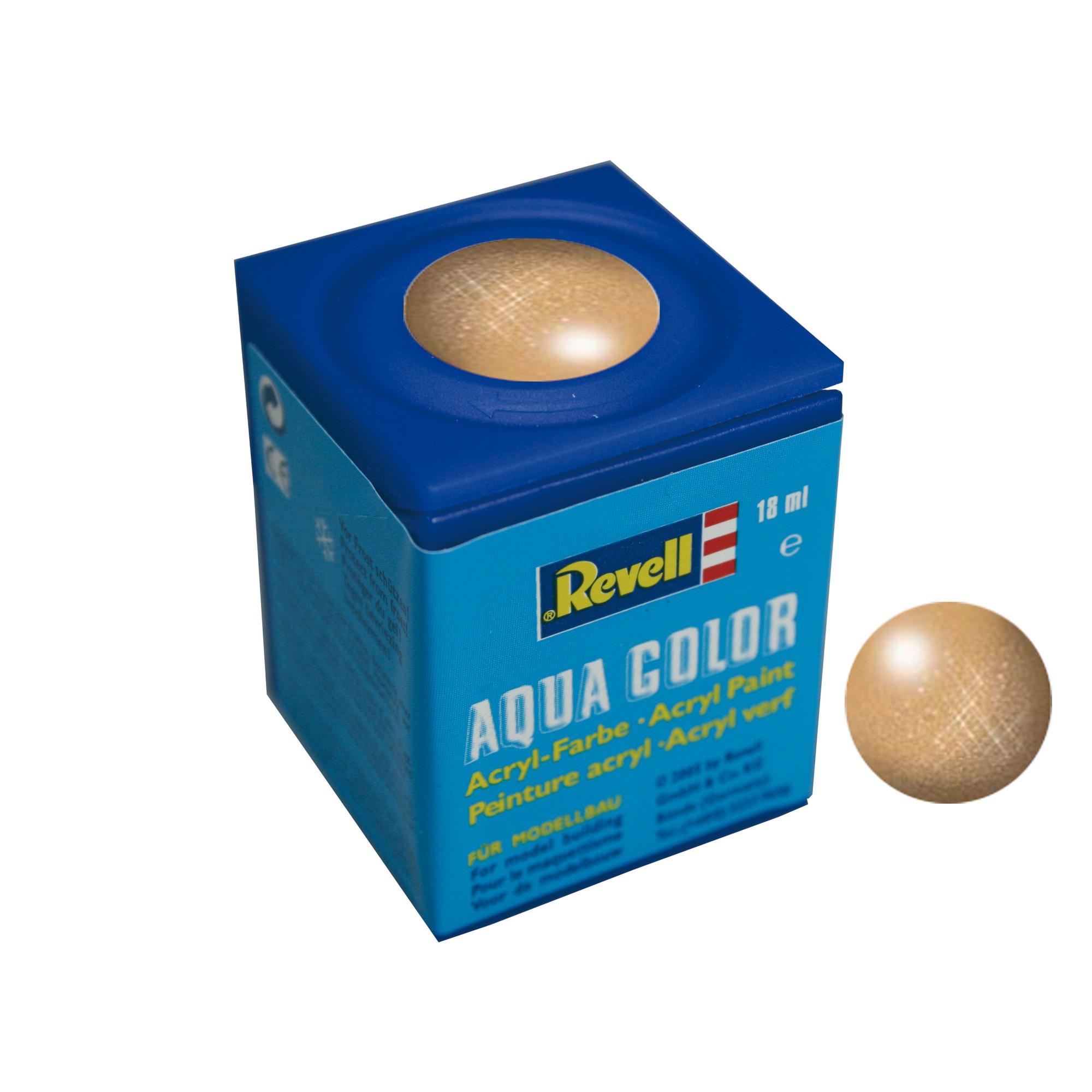 Revell Aqua Color metallic Gold