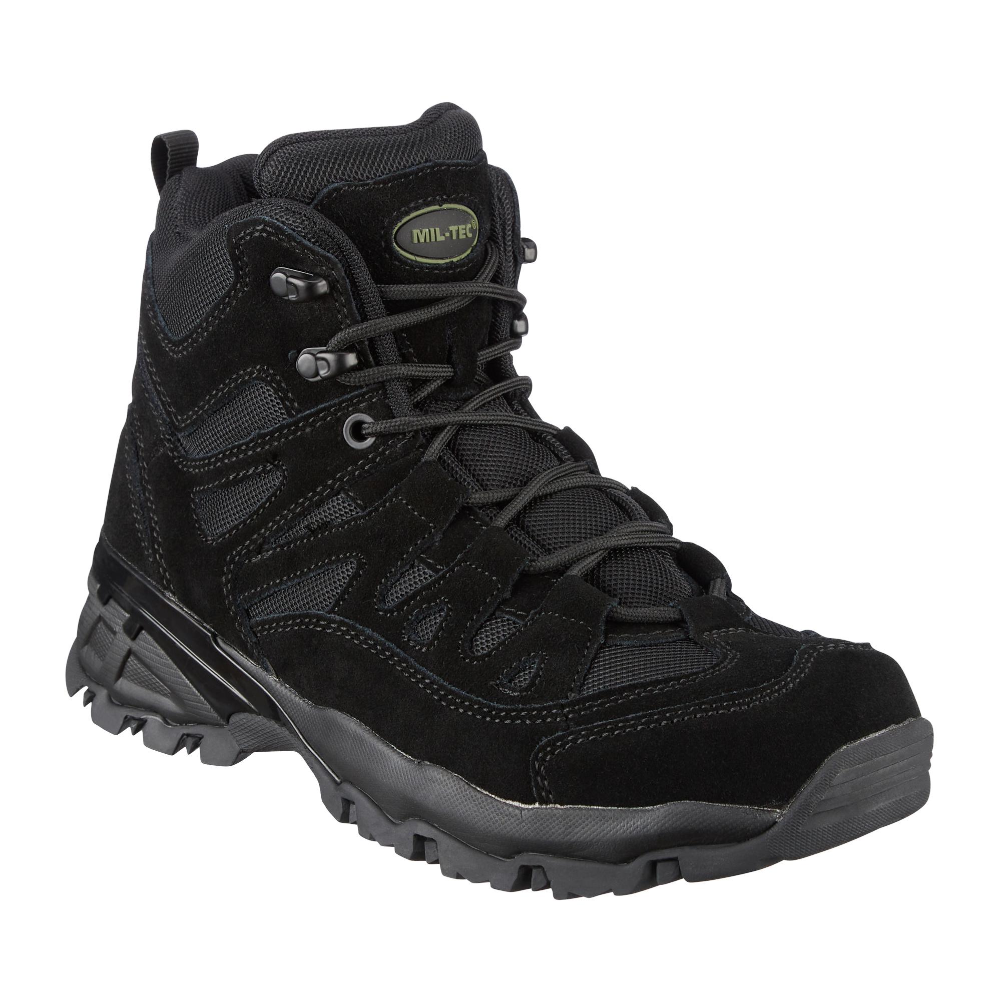 Stiefel Paratrooper Mil-Tec schwarz