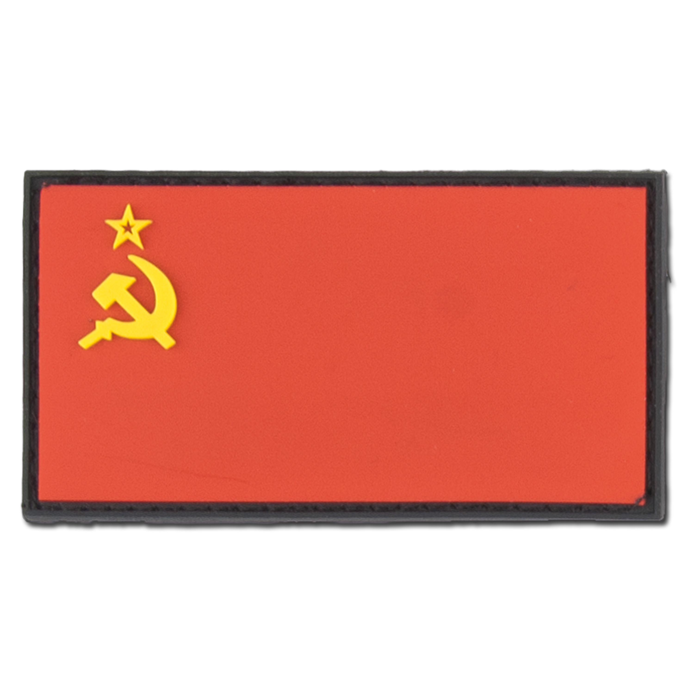 3D-Patch Sowjetunion Fahne