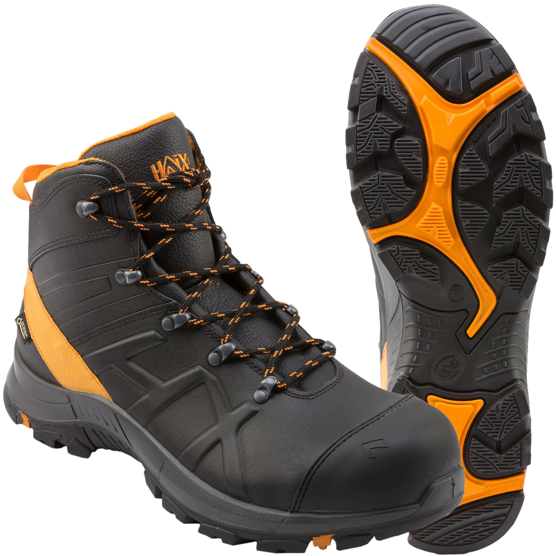 Haix Stiefel Black Eagle Safety 54 mid schwarz orange