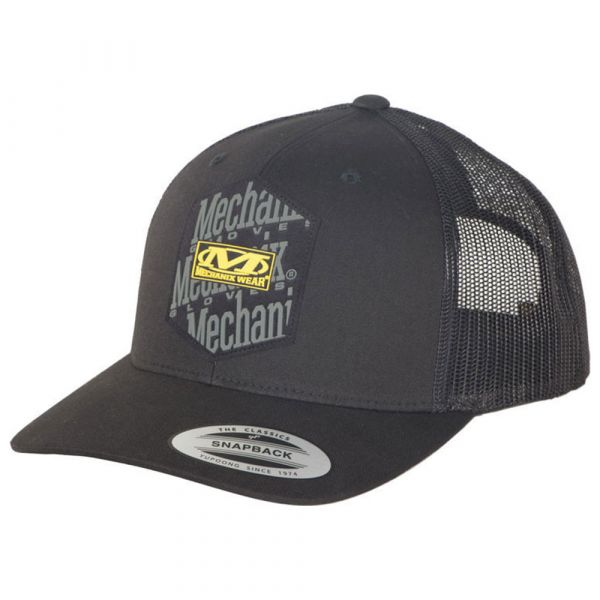 Mechanix Icon Snapback Hat schwarz