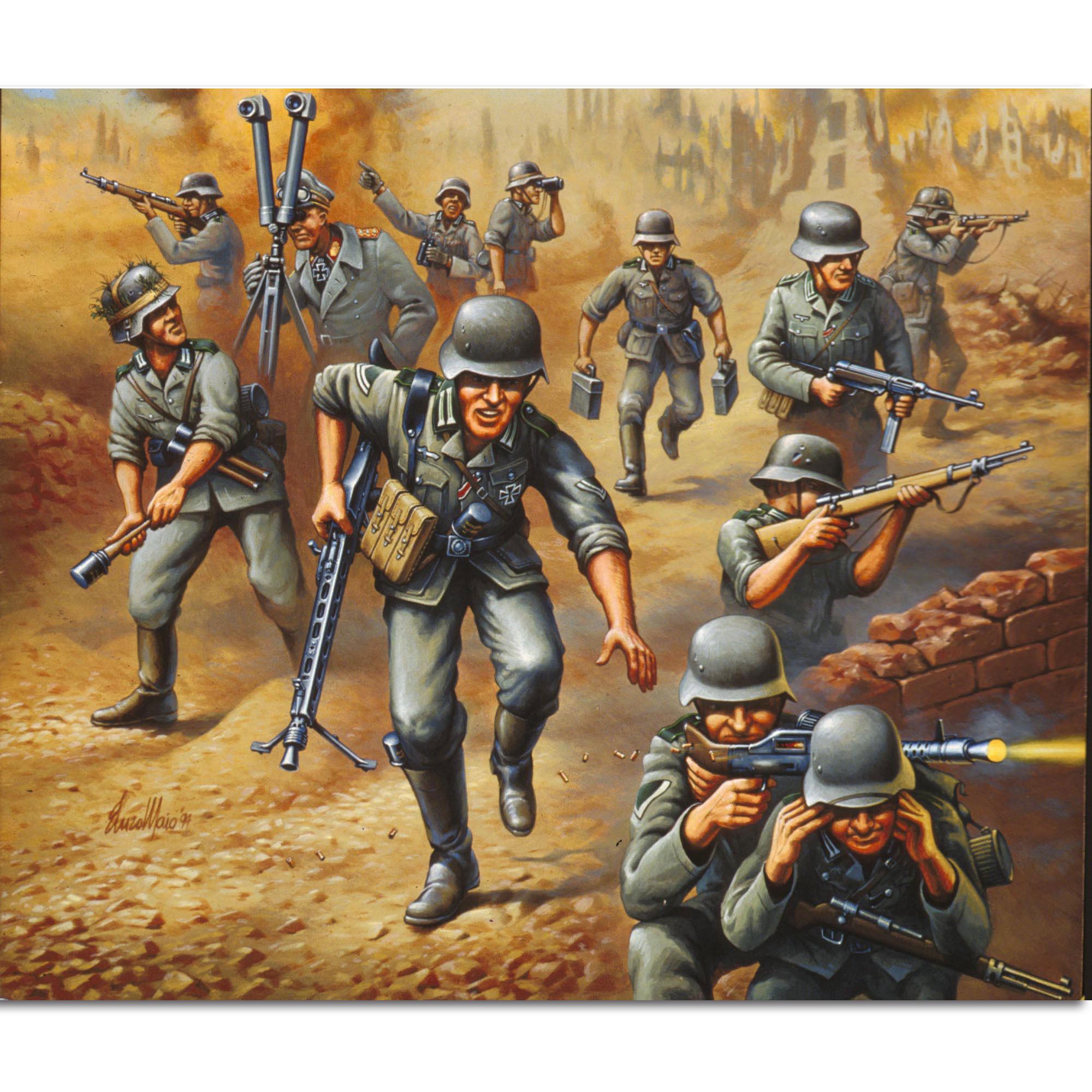 Revell Deutsche Panzergrenadiere WW II