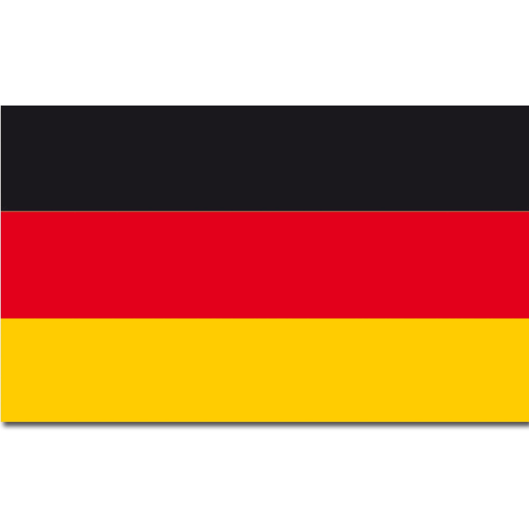 Flagge Deutschland Baumwolle