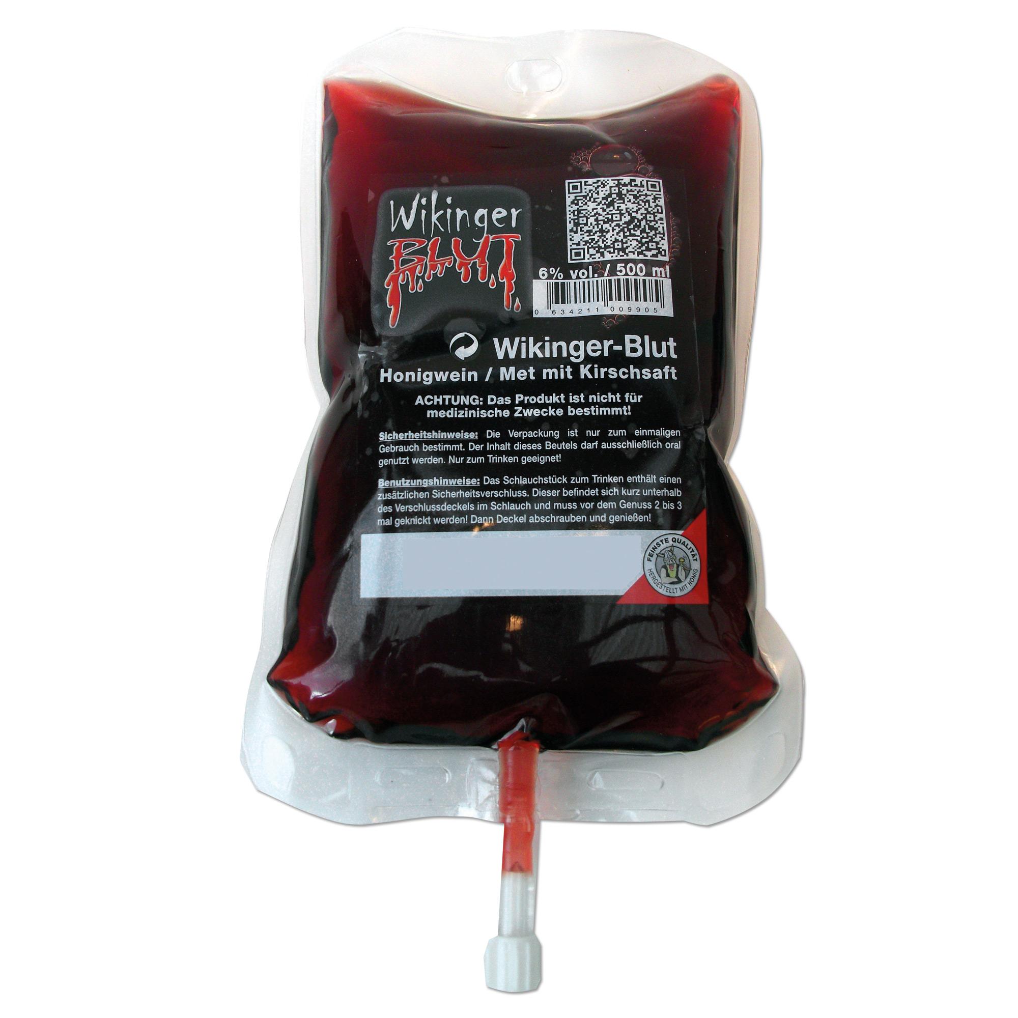 Trinkbeutel Wikinger Blut 0.5 l