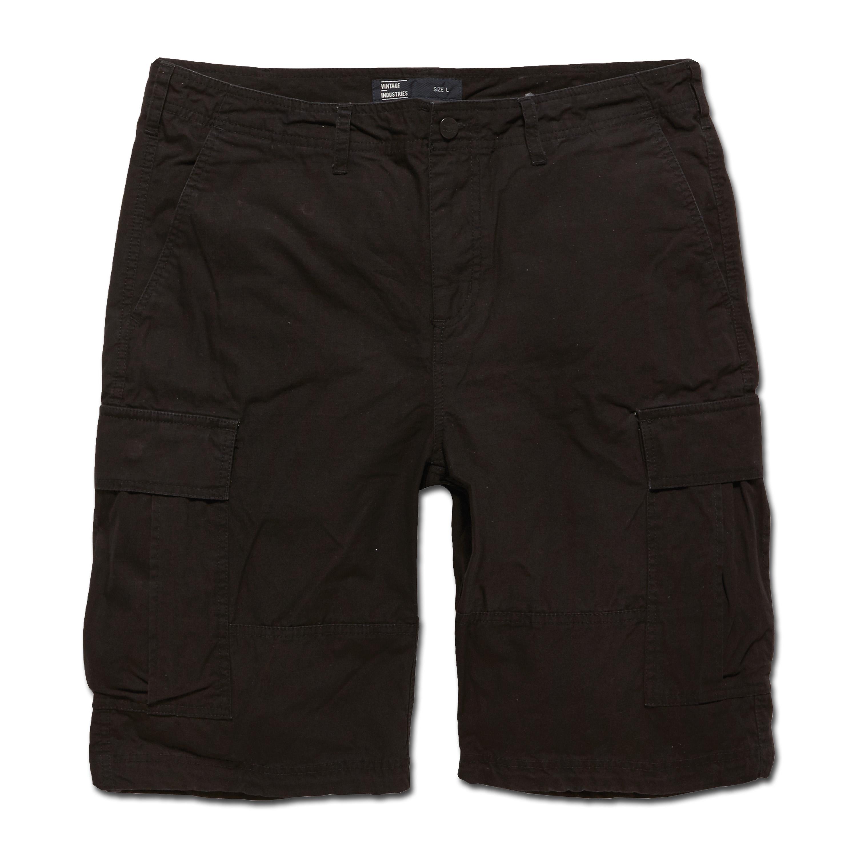 Vintage Industries BDU Shorts schwarz