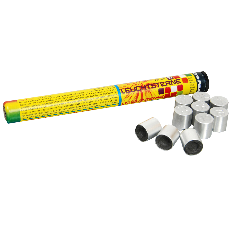 Zink Feuerwerk 10-C Signalsterne 15 mm 10 Stück