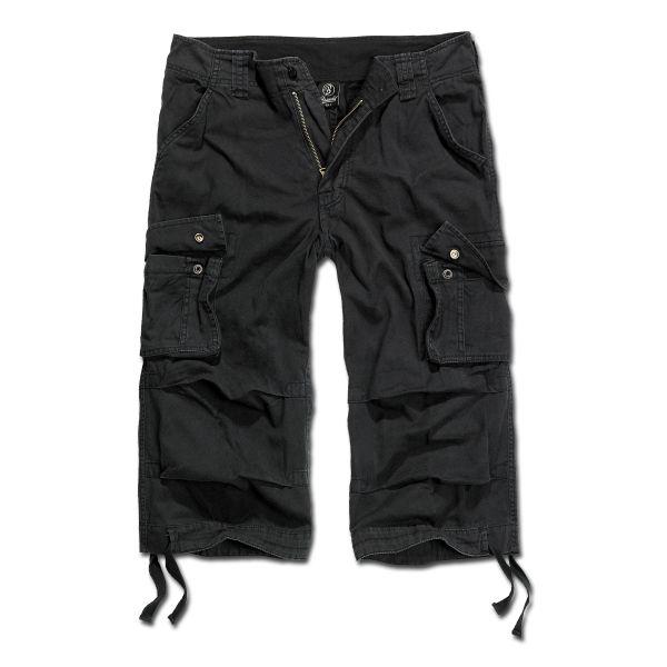 Brandit Shorts 3/4 Urban Legend schwarz