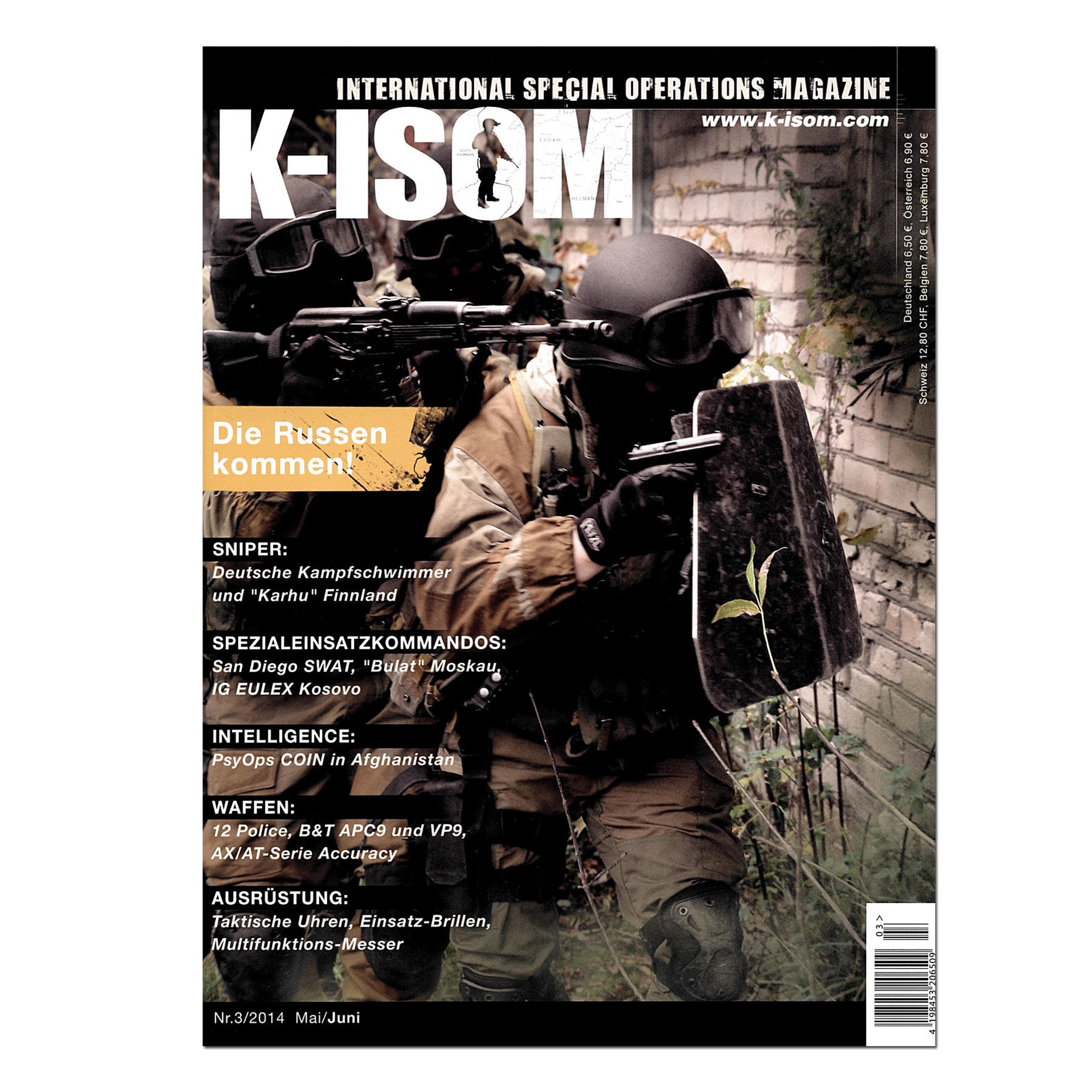 Kommando Magazin K-ISOM Ausgabe 03-2014