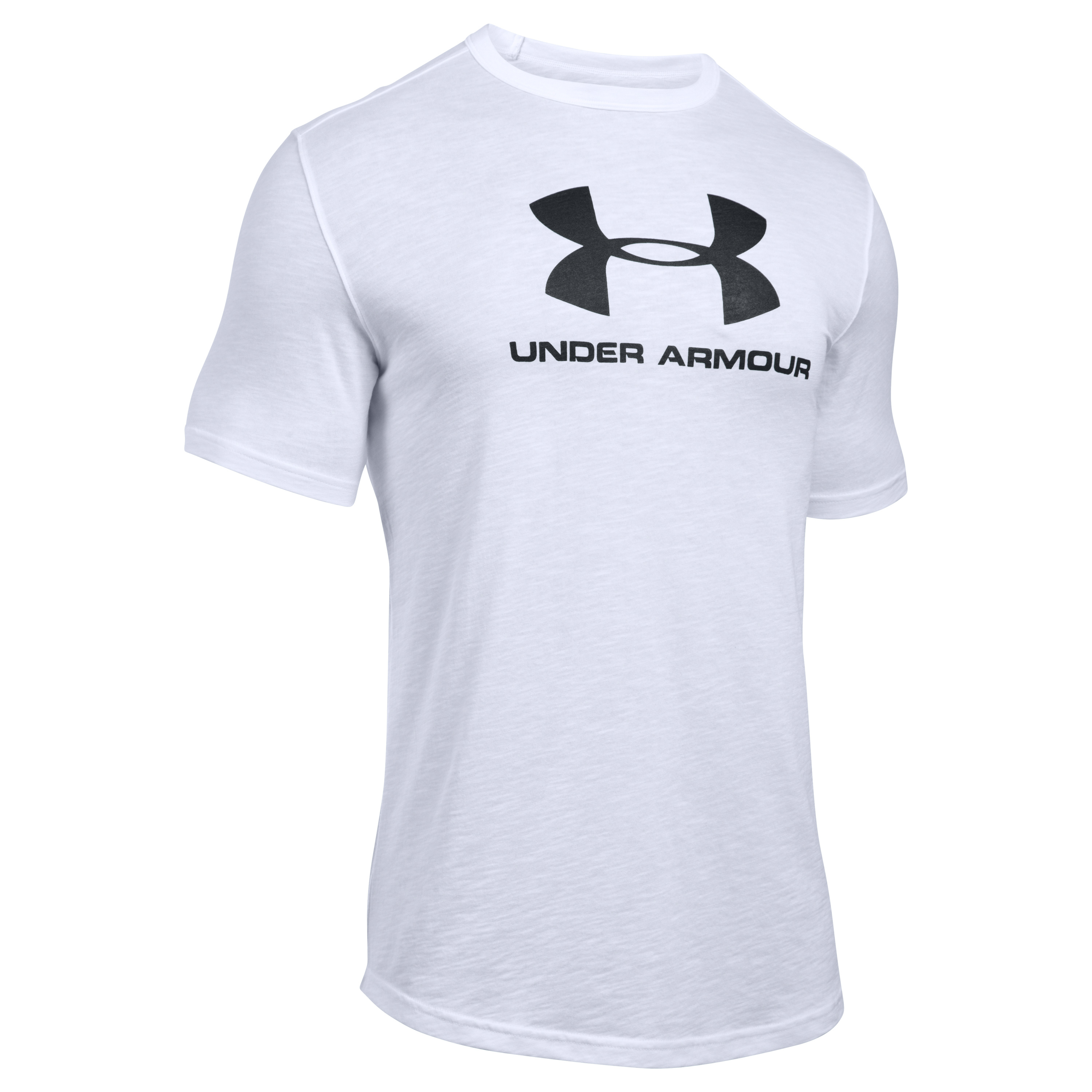Under Armour Fitness T-Shirt Sportstyle Branded Tee weiß