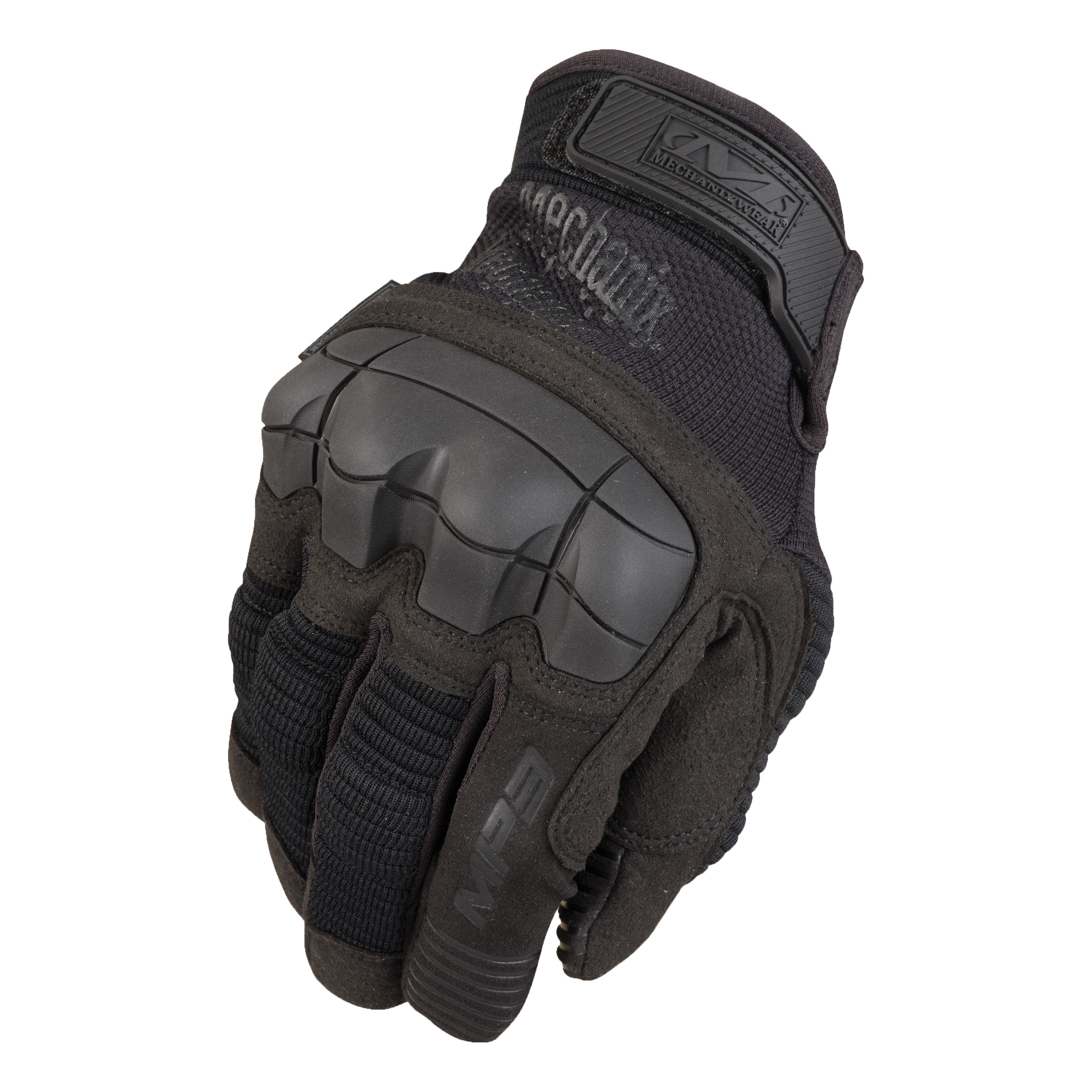 Handschuhe Mechanix M-Pact 3 Leather schwarz