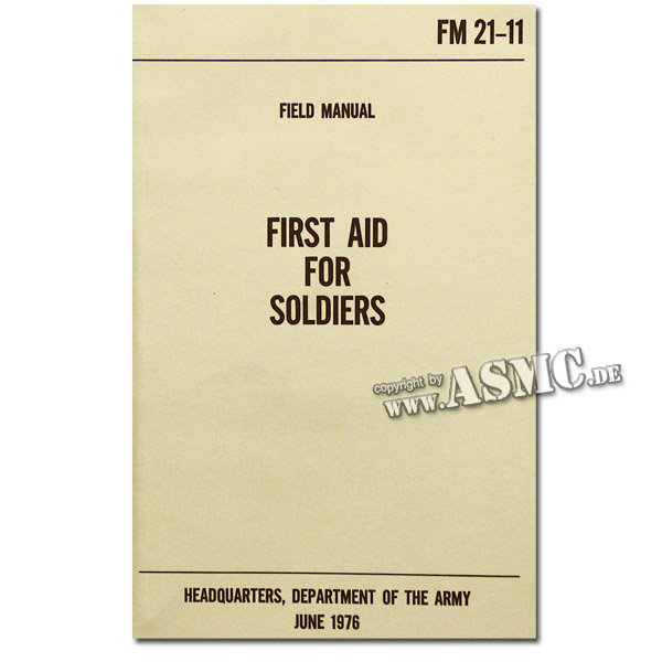 Buch First Aid for Soldiers