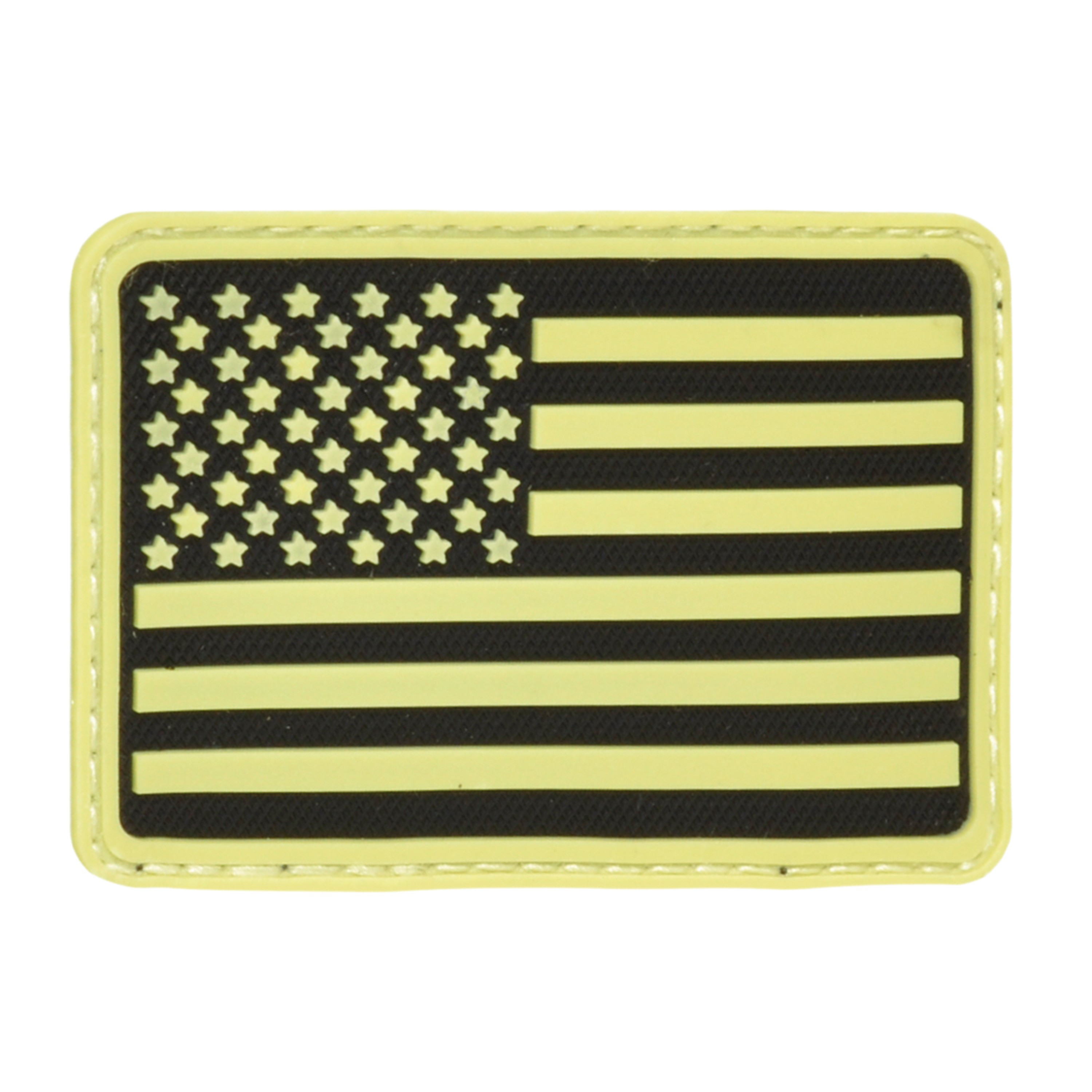 3D-Patch Hazard 4 USA Flag links nachleuchtend
