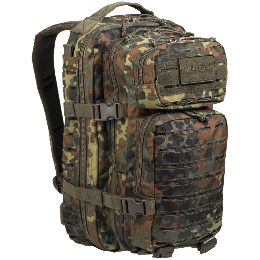 Rucksack US Assault Pack SM Laser Cut flecktarn