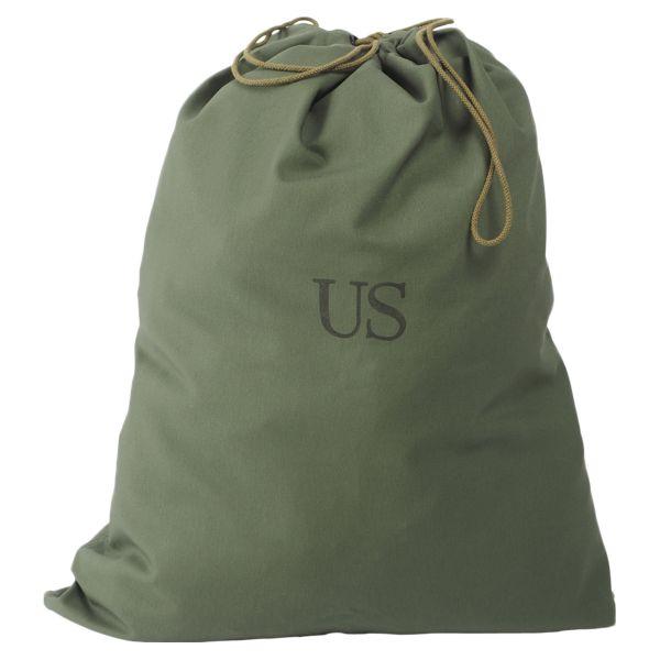 US Wäschesack GI oliv gebraucht