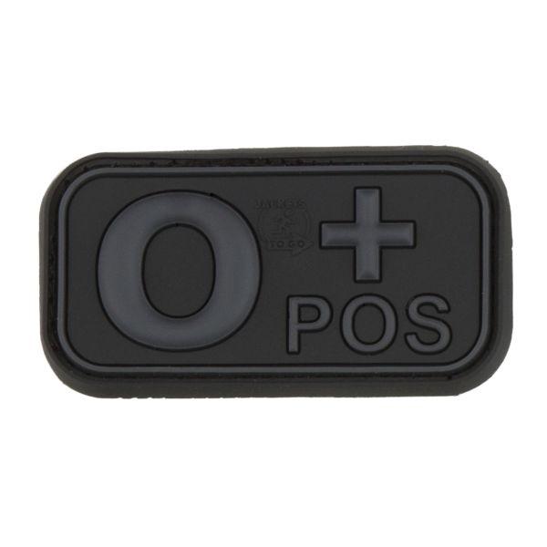 TAP 3D Blutgruppenpatch 0 Pos blackops