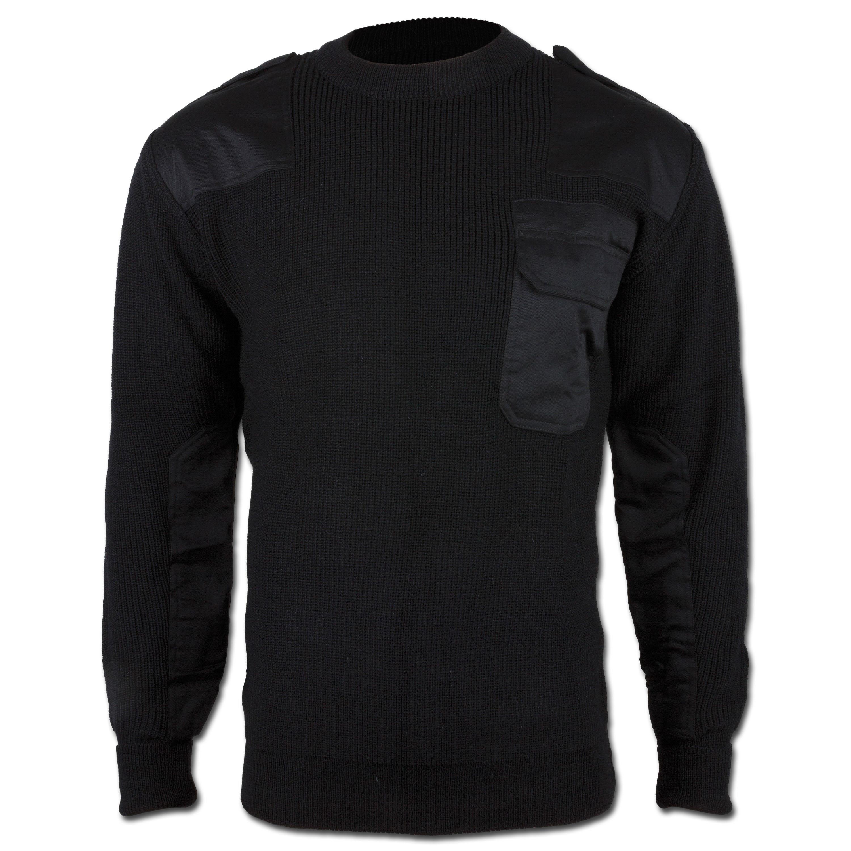 BW Pullover Acryl schwarz
