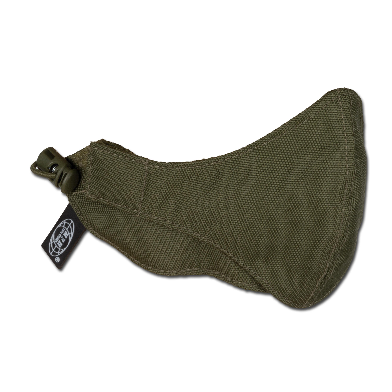 Mundschutzmaske MFH oliv 2-teilig