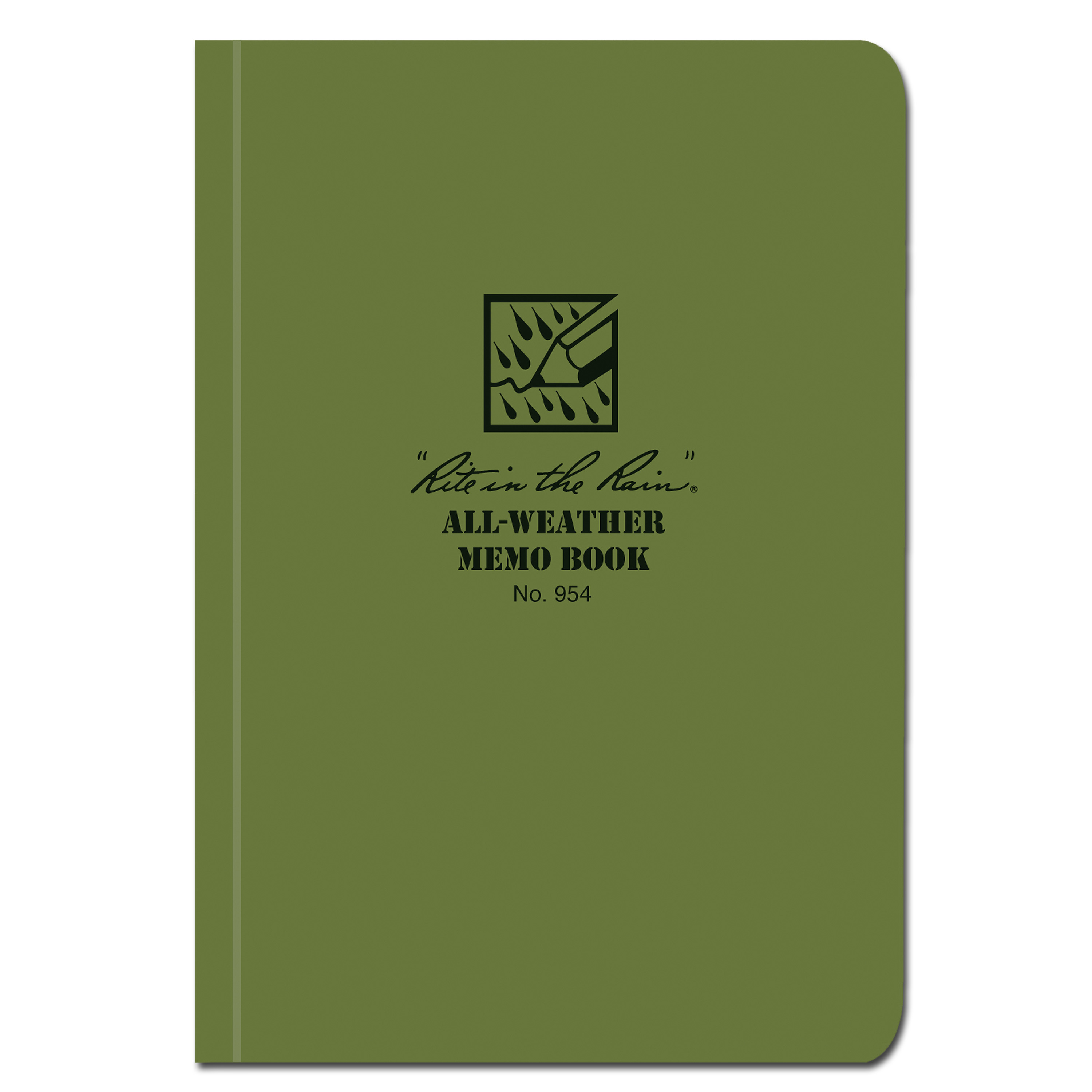 Rite in the Rain Tactical Memo Book oliv 954
