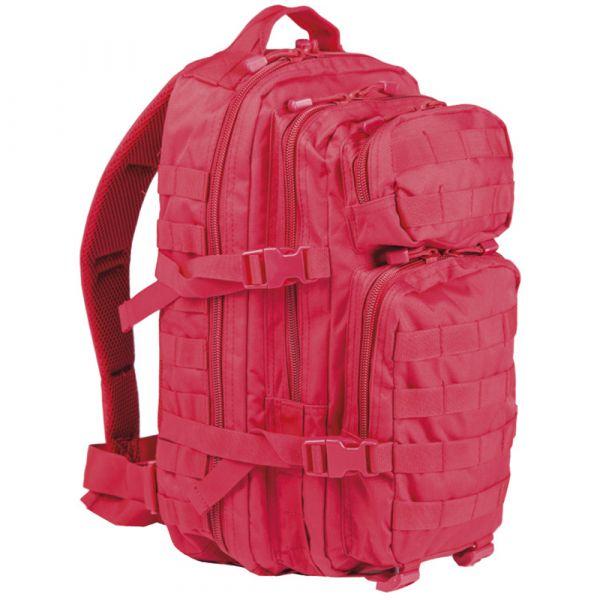 Rucksack US Assault Pack signalrot