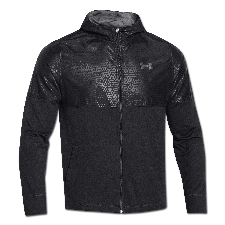 Under Armour Light Weight Jacket Full-Zip schwarz