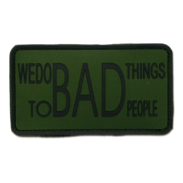 3D-Patch We do bad things to bad people forest