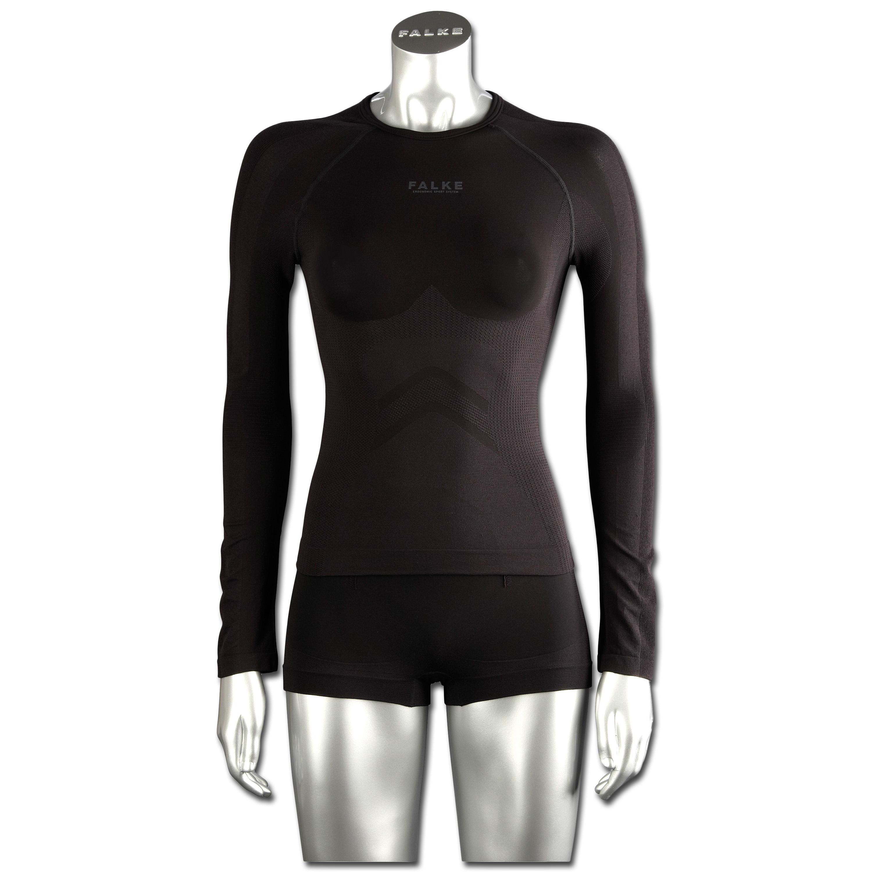 Falke Women Long-Sleeved Shirt Running schwarz