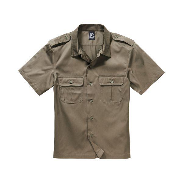 Brandit Shirt US halbarm oliv