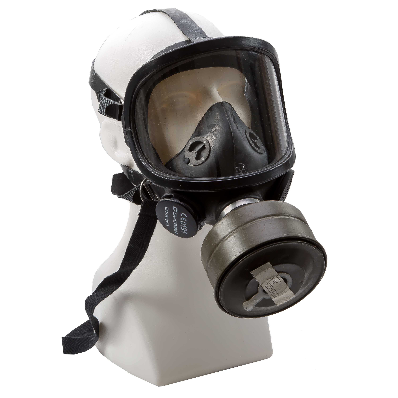 Panorama Schutzmaske FERNEZ mit Filter neuwertig